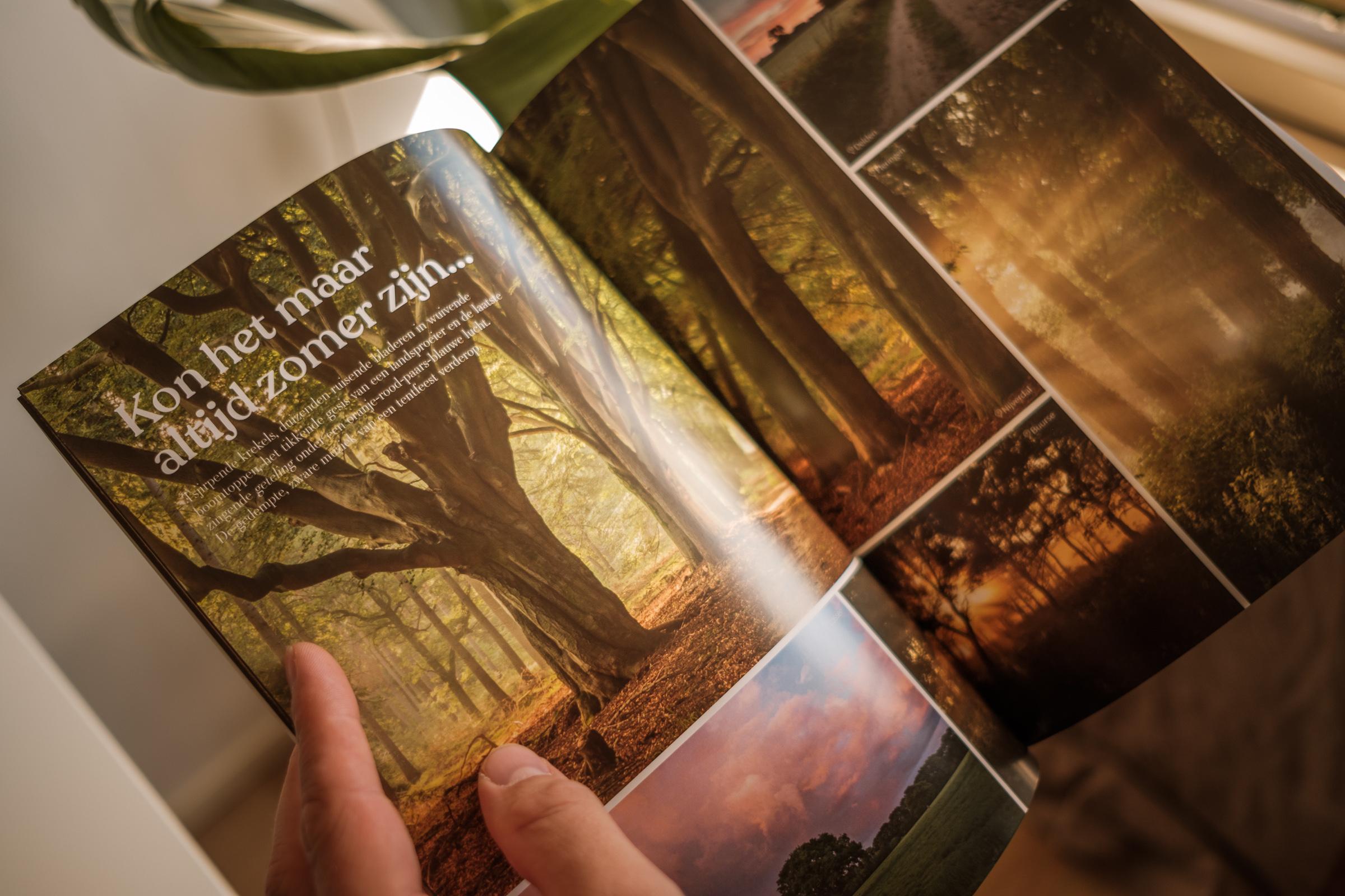 FreshText bladert in het tijdschrift Twente Ontwaakt en leest een tekst over Twente - tekstschrijver twente
