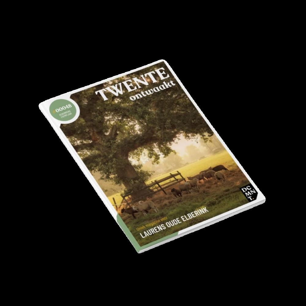 Twente Ontwaakt Tijdschrift Tekstschrijver Twente